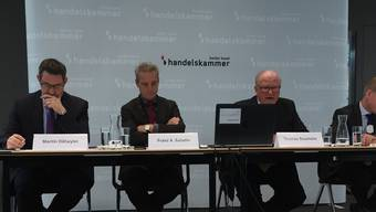 Am Montag fand die Jahrespressekonferenz der Handelskammer beider Basel statt.