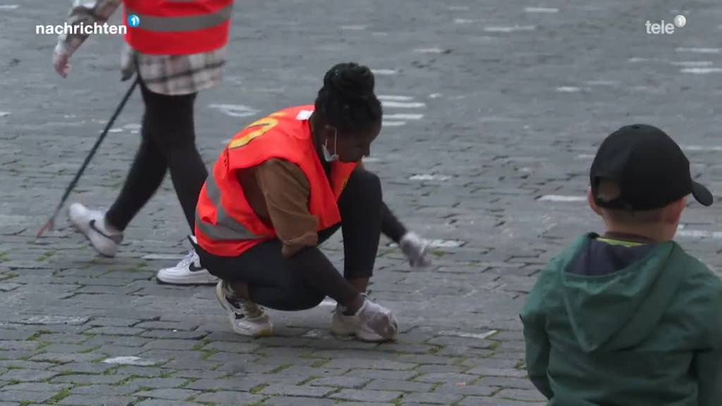 Clean Up Day in Luzern