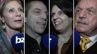 Prominentes Premierenpublikum: Das sagen Elisabeth Ackermann, Maya Graf oder -minu zum Drummeli 2018.