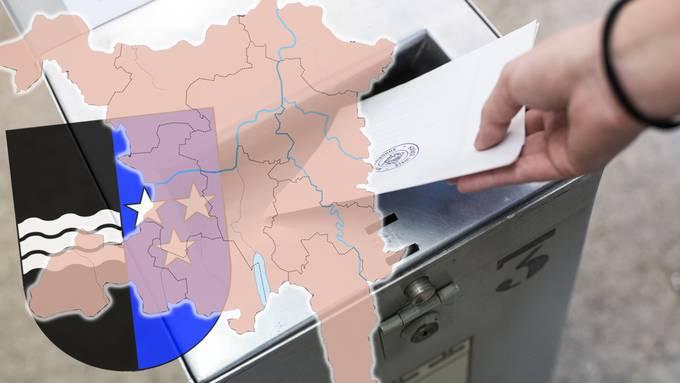 Das Aargauer Stimmvolk wählt am Sonntag ein neues Parlament.