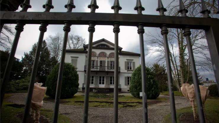 In der Villa Malaga in Lenzburg hatte der in Wien verstorbene Rechtsanwalt Roland Padrutt seine Kanzlei.