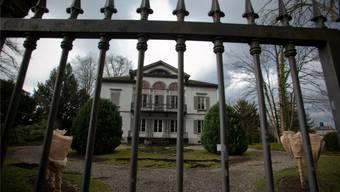 Villa Malaga in Lenzburg. Hier befindet sich das Büro des umstrittenen Anwalts Padrutt.