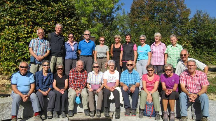 Gruppenfoto auf dem Sonnenberg