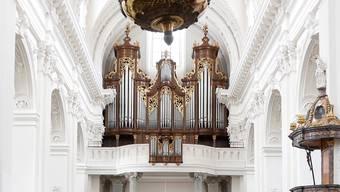 Das vierte Orgel-Konzert des Sommerorgel-Konzertzyklus wird am Dienstag Tobias Frankenreiter spielen. (Archiv)
