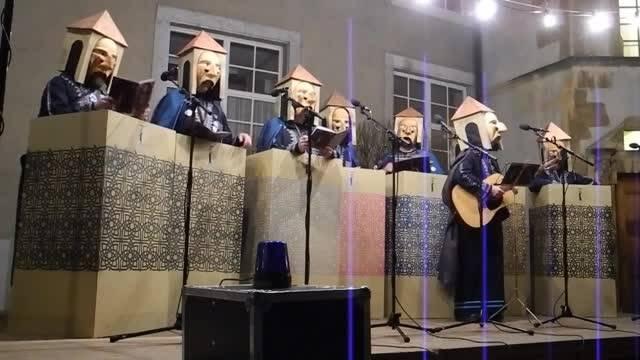 Ambassadore Bäse als Muezzin am Höflisingen 2018