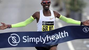 Mo Farah läuft in Chicago im Marathon zu einem Europarekord