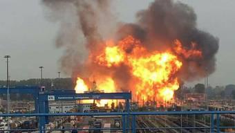 Chemiekonzern BASF Explosion Ludswigshafen