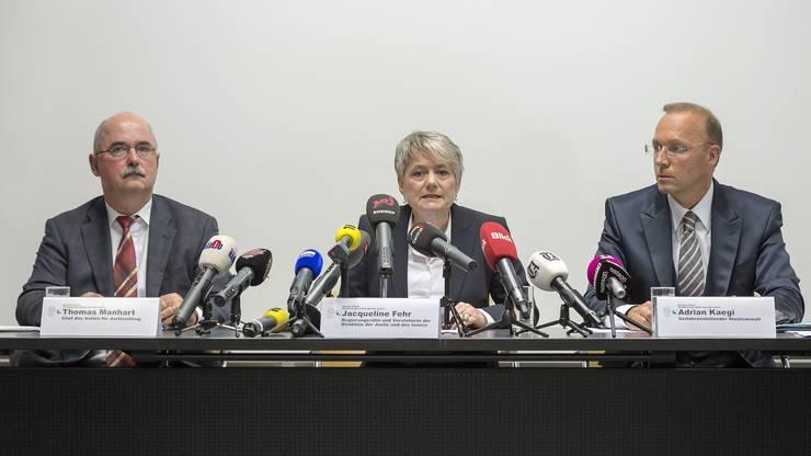 Das Zürcher Justizdepartement informierte am Montag zum Tötungsdelikt im Zürcher Seefeld