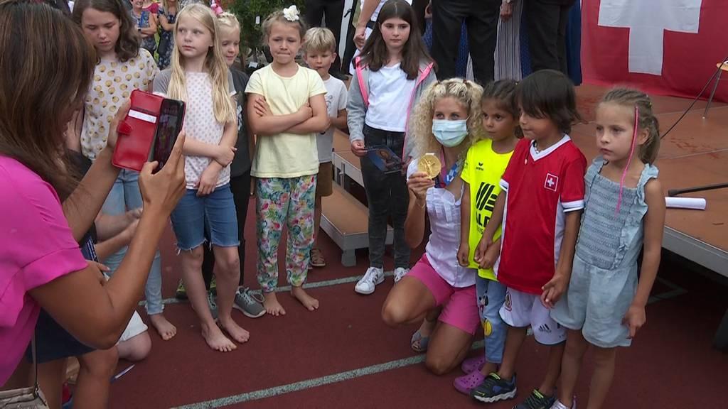 Thal empfängt Olympiaheldin Jolanda Neff