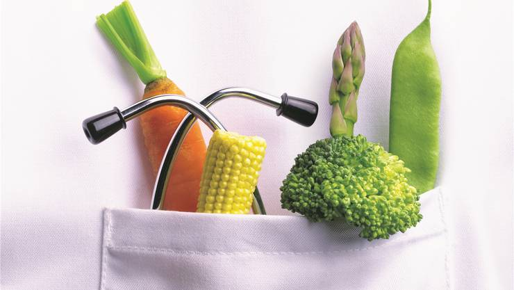 Spitäler bieten veganen Patienten unterschiedliche Lösungen an.