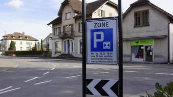 In der Unteren Farnbühlstrasse ist der Zoneneingang bereits beschildert.