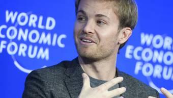 Sein Interesse an der Wirtschaft ist gross: Nico Rosberg besuchte im Januar das World Economic Forum in Davos.