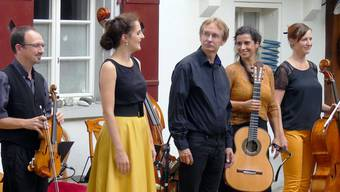 Von links: Sandro Reichen, Stefanie Frei, Christoph Studer, Tanja Knoblauch und Rebecca Hagmann.