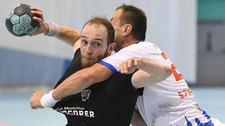 HSC-Co-Captain Tim Aufdenblatten ist nur einer von vielen Leistungsträgern, die in dieser Saison schon mehrere Partien verletzungshalber verpasst haben.