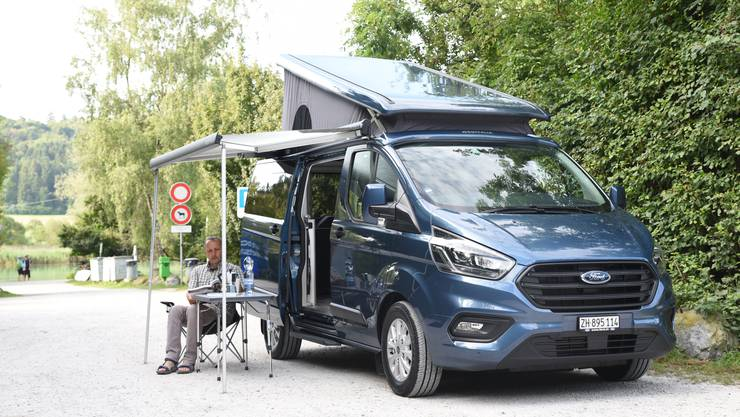 Camper wie der Ford Nugget schaffen die Grundlage, um die Natur erleben zu können. Bild: zvg