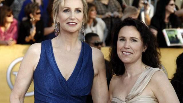 Das wars: Ehe-Aus bei Jane Lynch (links) und Lara Embry (Archiv)