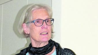 Rita Wismann referierte zum Thema «Nähe und Distanz».