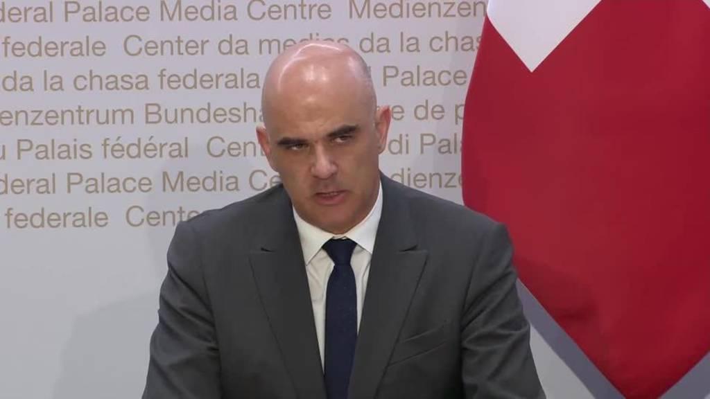 Komplette Pressekonferenz des Bundesrates vom 22. April 2020
