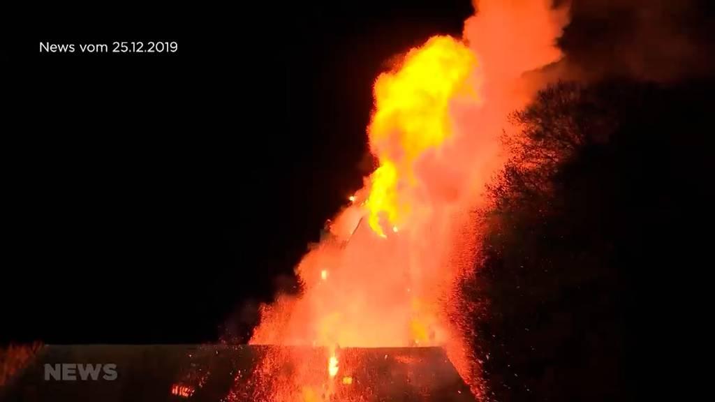 Bilder gehen unter die Haut: Ein Jahr nach dem Kirchenbrand von Herzogenbuchsee