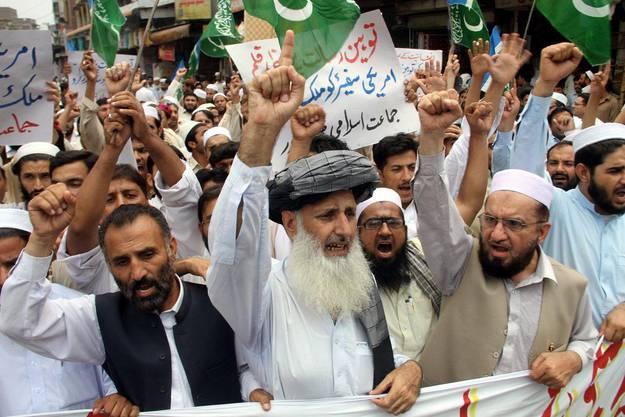 Pakistanischer Protest