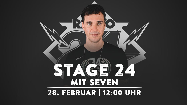 Stage 24 mit Seven