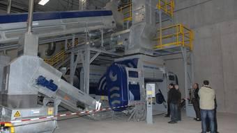 Neue Kunststoffaufbereitungsanlage in Siggenthal Station