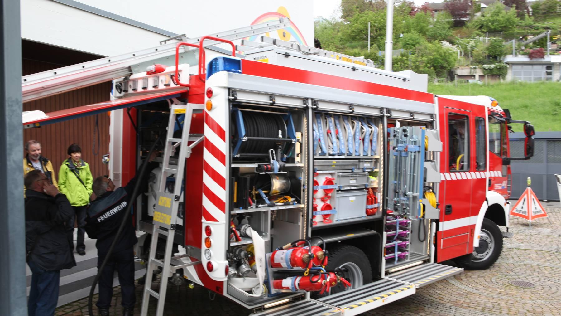 Die Feuerwehr im Kanton Luzern sucht Nachwuchs