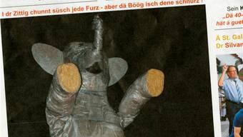 Die Thaler vermissten einen Bericht zum letztjährigen Böögg