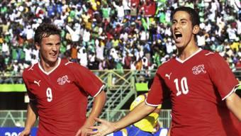 Duo infernale: Nassim Ben Khalifa und Haris Seferovic