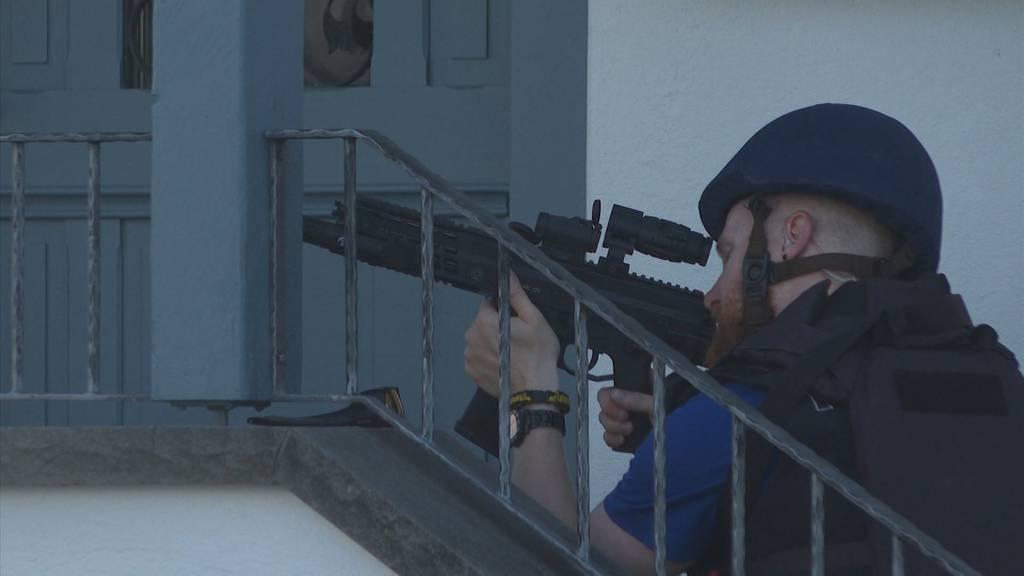 Amriswil: Mann bedroht Frau mit Waffe