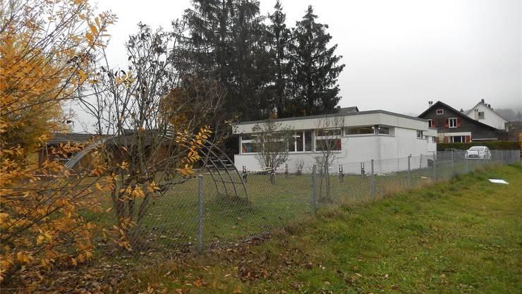 Der Kindergarten Mühlefeld soll um ein Gebäude für zwei Klassen in Modulbauweise erweitert werden.