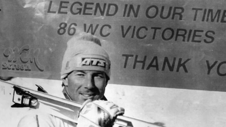 Ingemar Stenmark (noch) ist Rekord-Weltcupsieger