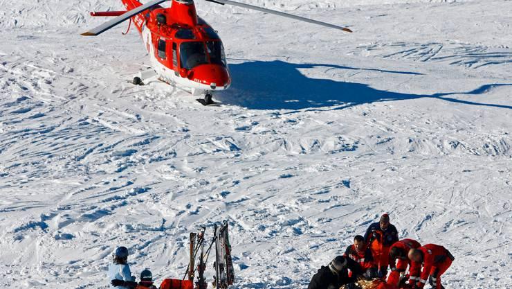 Im letzten Jahrzehnt hat die Zahl der tödlichen Unfälle auf Skipisten abgenommen.