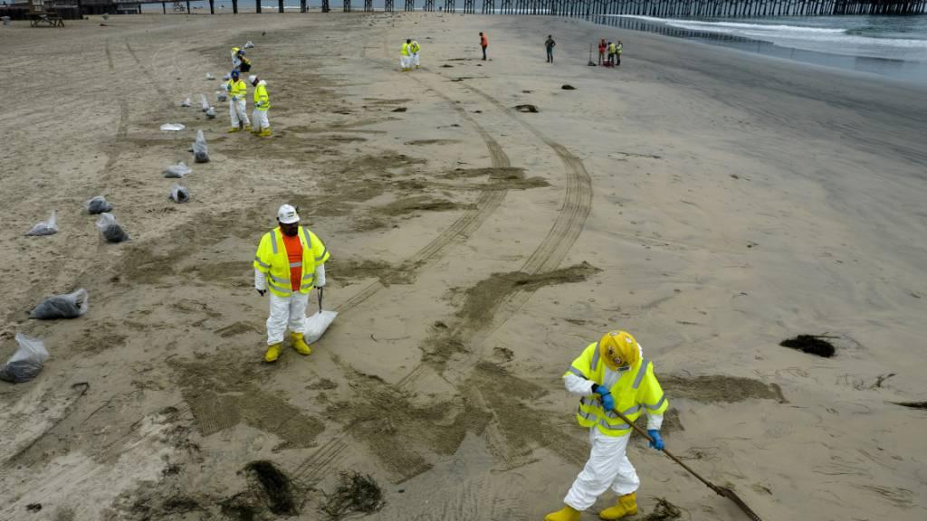 US-Küstenwache: Öl-Pipeline vermutlich schon vor Monaten beschädigt