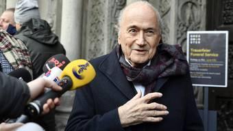 EX-FIFA Präsident Sepp Blatter.