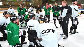 EHC Olten: Das erste Eistraining der Saison 19/20