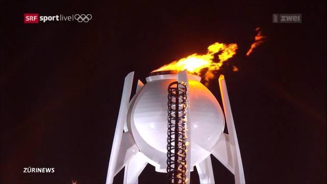 Eröffnung der Olympischen Winterspiele von Südkorea