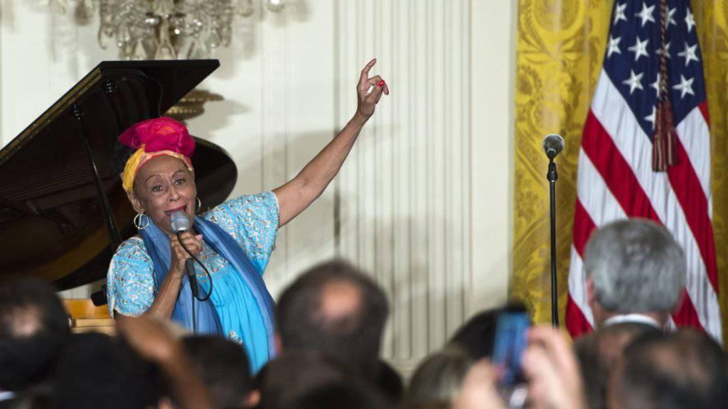 """Musik ist mein Leben"": Buena-Vista-Sängerin Omara Portuondo (Archiv)"