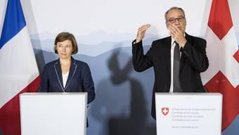 Parmelin empfängt französische Verteidigungsministerin