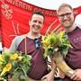 Diego und Jonas haben ihre «Blumenhörner» aus Obersiggenthal an Aarau ans Turnfest gebracht.