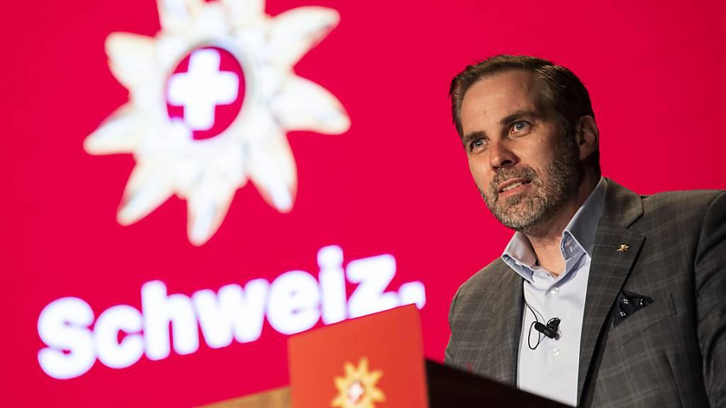 Laut Martin Nydegger, Direktor von Schweiz Tourismus, hat sich der Sonderweg der Schweiz im Wintertourismus bewährt. (Archivbild)