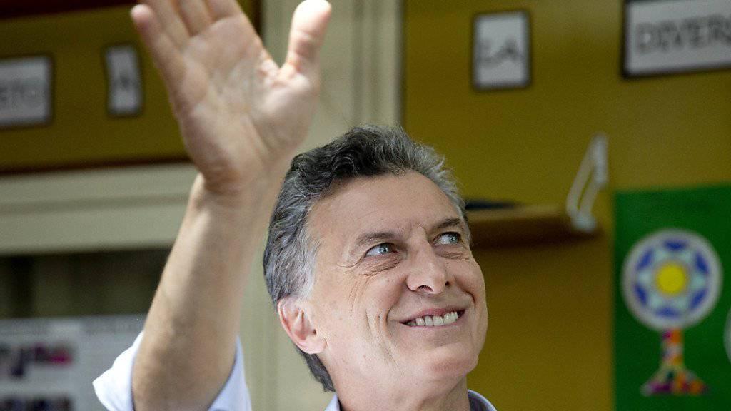 Machtwechsel in Argentinien: Der Konservative Mauricio Macri verdrängt höchstwahrscheinlich die Peronisten aus dem Präsidentenpalast in Buenos Aires.