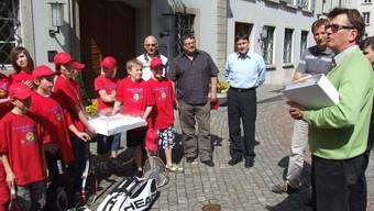 Der Tennisclub Aarau hofft auf die Stadt