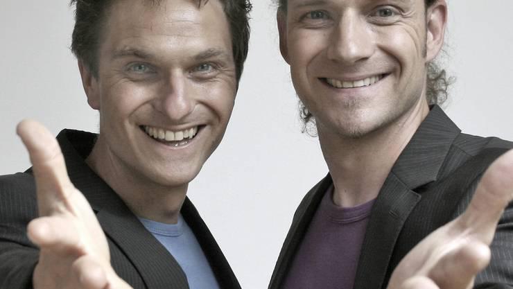 Die beiden Brüder Gernot und Wolfram Bohnenberger