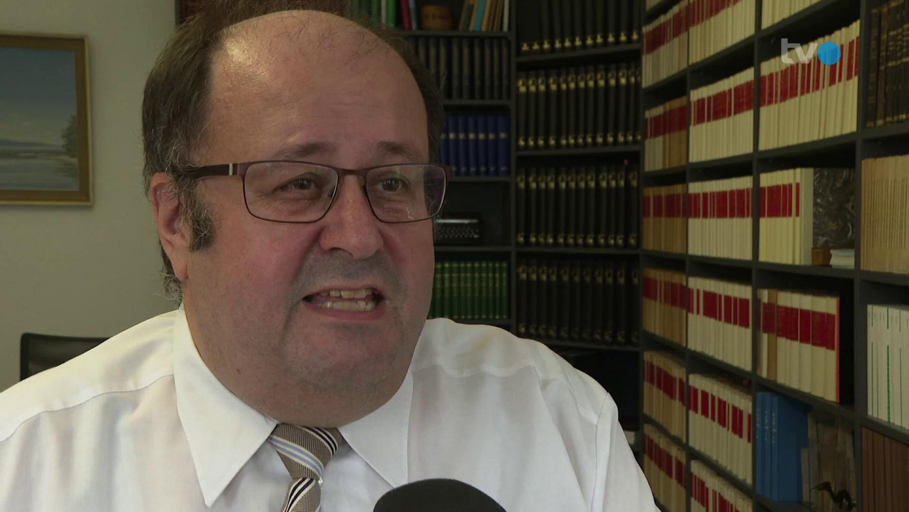 Ex-CVP-Kantonsrat Werner Ritter ist sauer: «Der Verwaltungsrat der Spitalverbunde stiert seinen Kopf durch!»