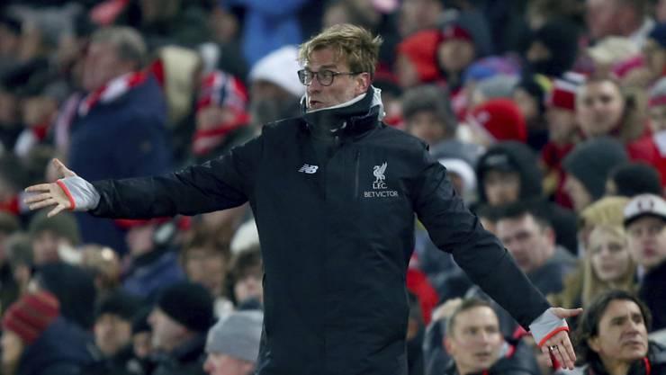 Seit Oktober 2015 amtet Jürgen Klopp als Trainer beim FC Liverpool