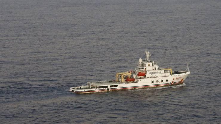Ein chinesisches Suchschiff hat möglicherweise ein Blackbox-Signal empfangen. (Archiv)