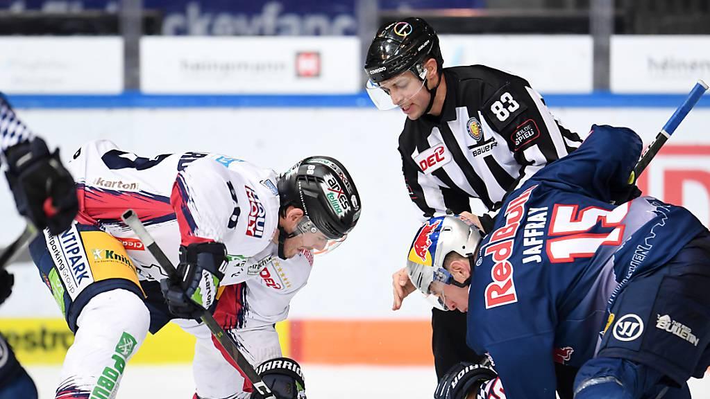 Die DEL-Saison (im Bild ein Spiel zwischen München und Berlin) wird vorzeitig abgebrochen. Auch in Österreich gibt es keinen Meister