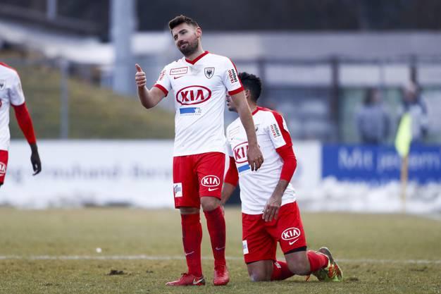 Beim FC Aarau sorgte er letzte Saison mit zwei Hattricks im Derby gegen Wohlen für Aufsehen.