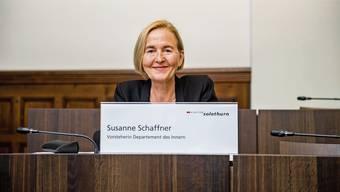 Polizeidirektorin Susanne Schaffner staunt über die Behauptungen der Gegner.